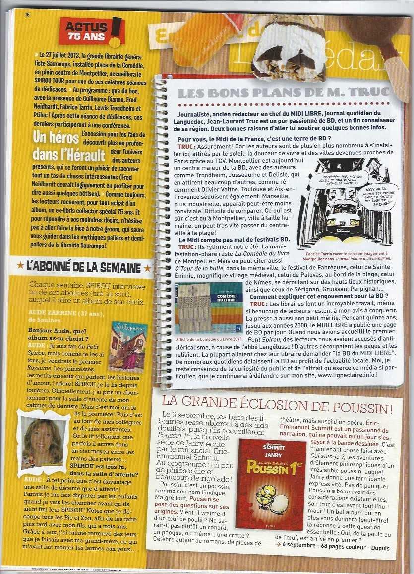 """Spirou Tour à Montpellier : les bons """"trucs"""" de Ligne Claire"""
