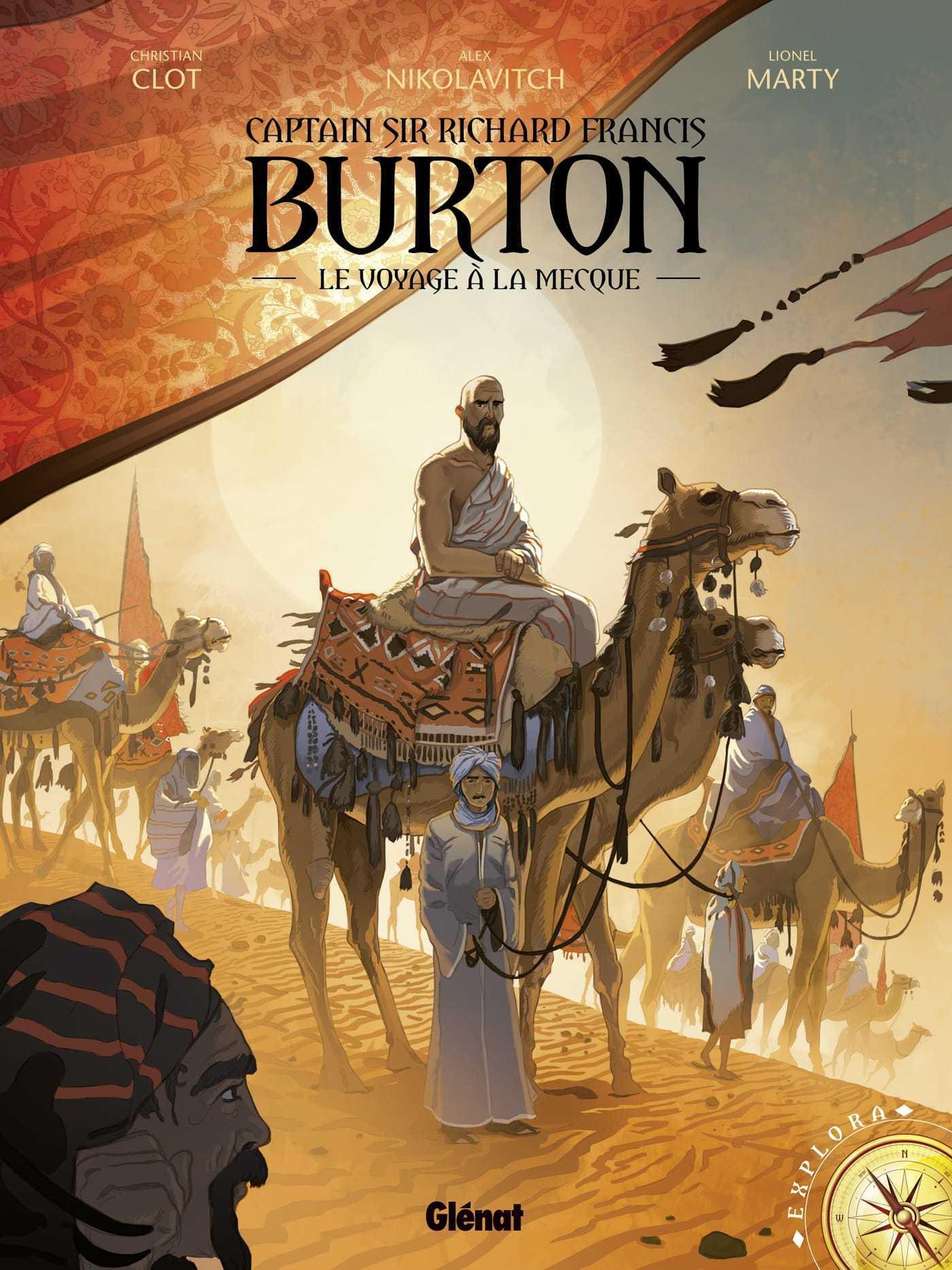 Burton, un Indiana Jones premier occidental à atteindre La Mecque