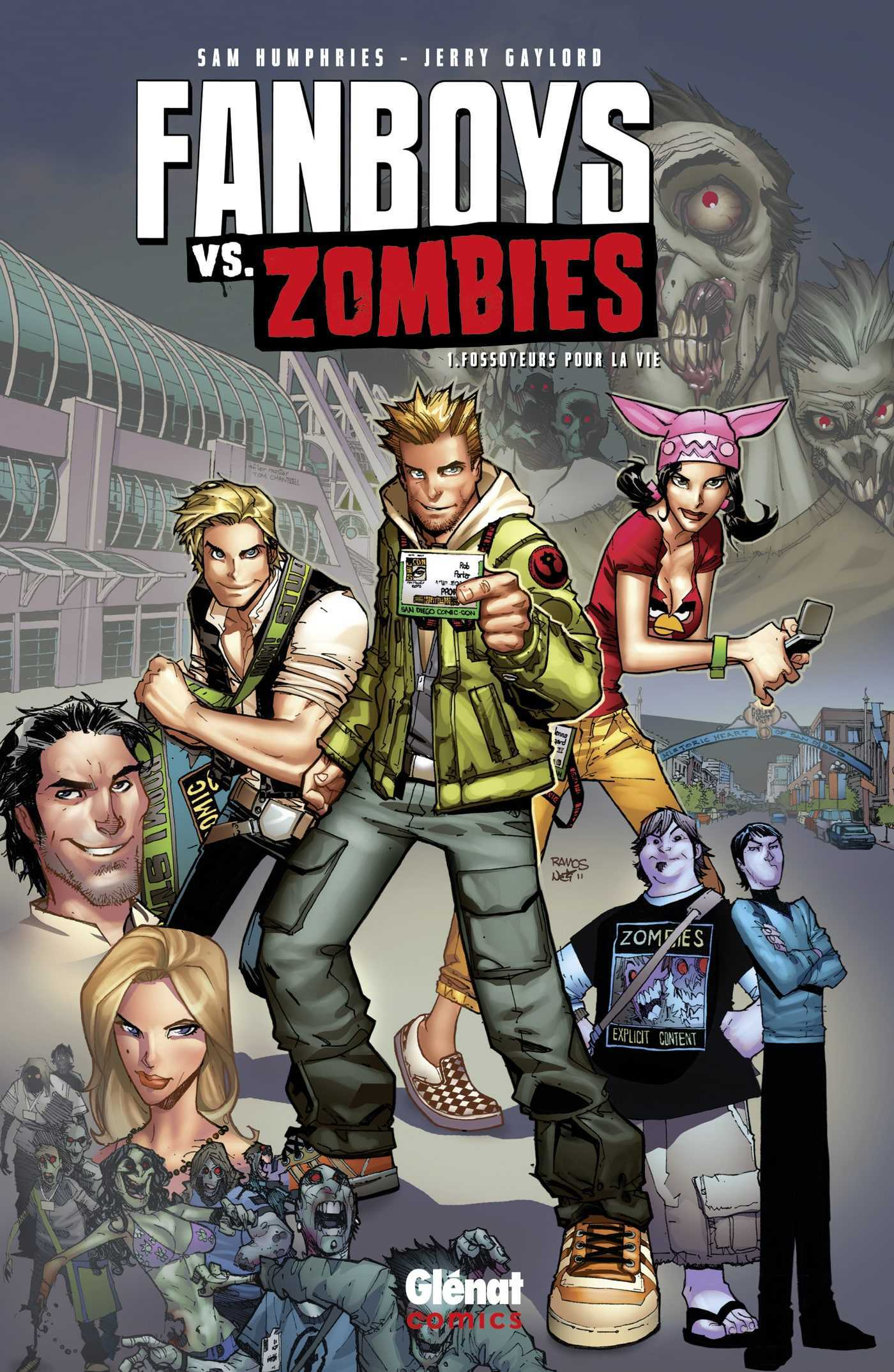 "Fanboys vs. Zombies, des héros ""mordus"" de comics"
