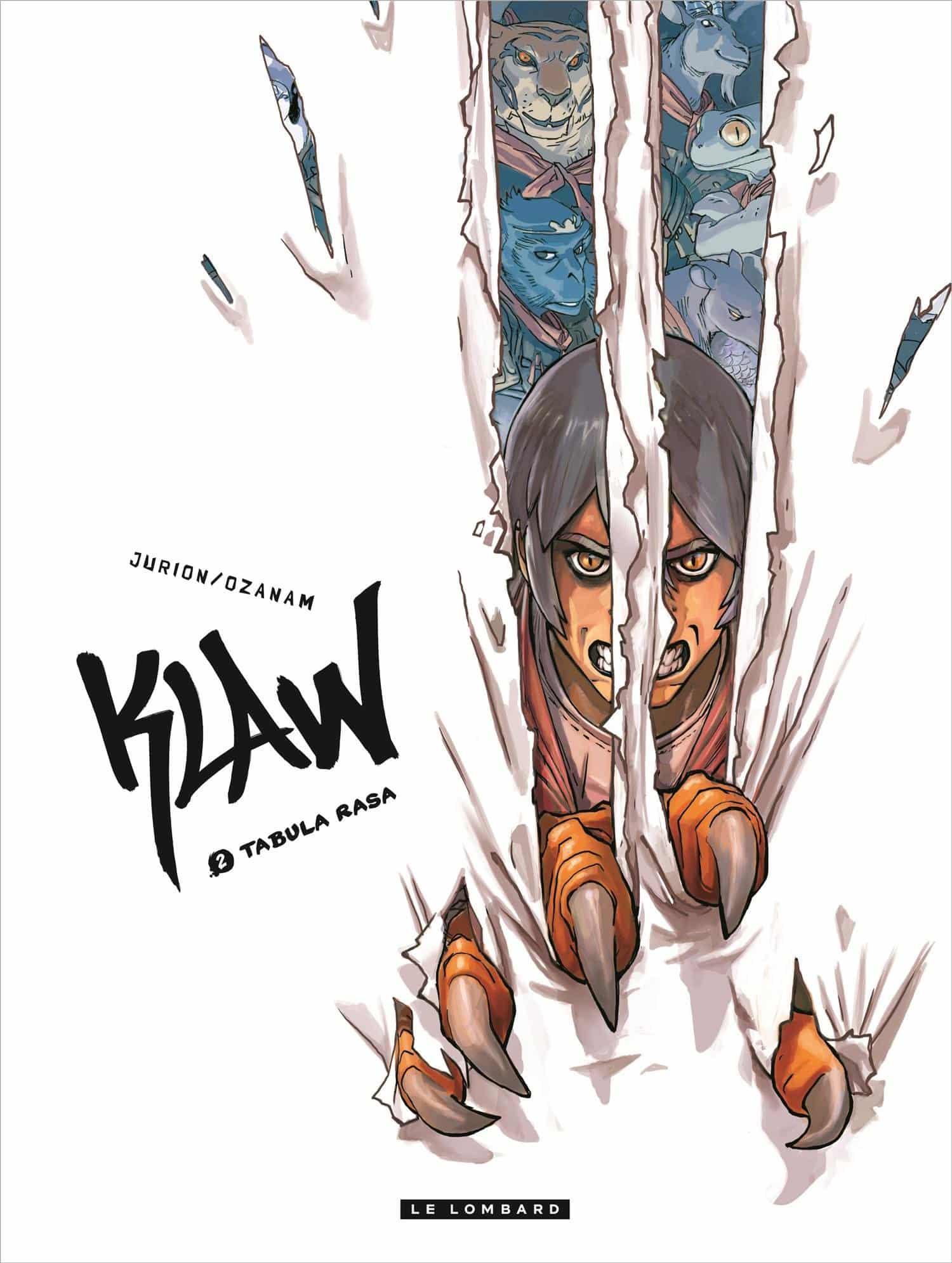 Klaw : Jurion en dédicace fin août chez Azimuts à Montpellier
