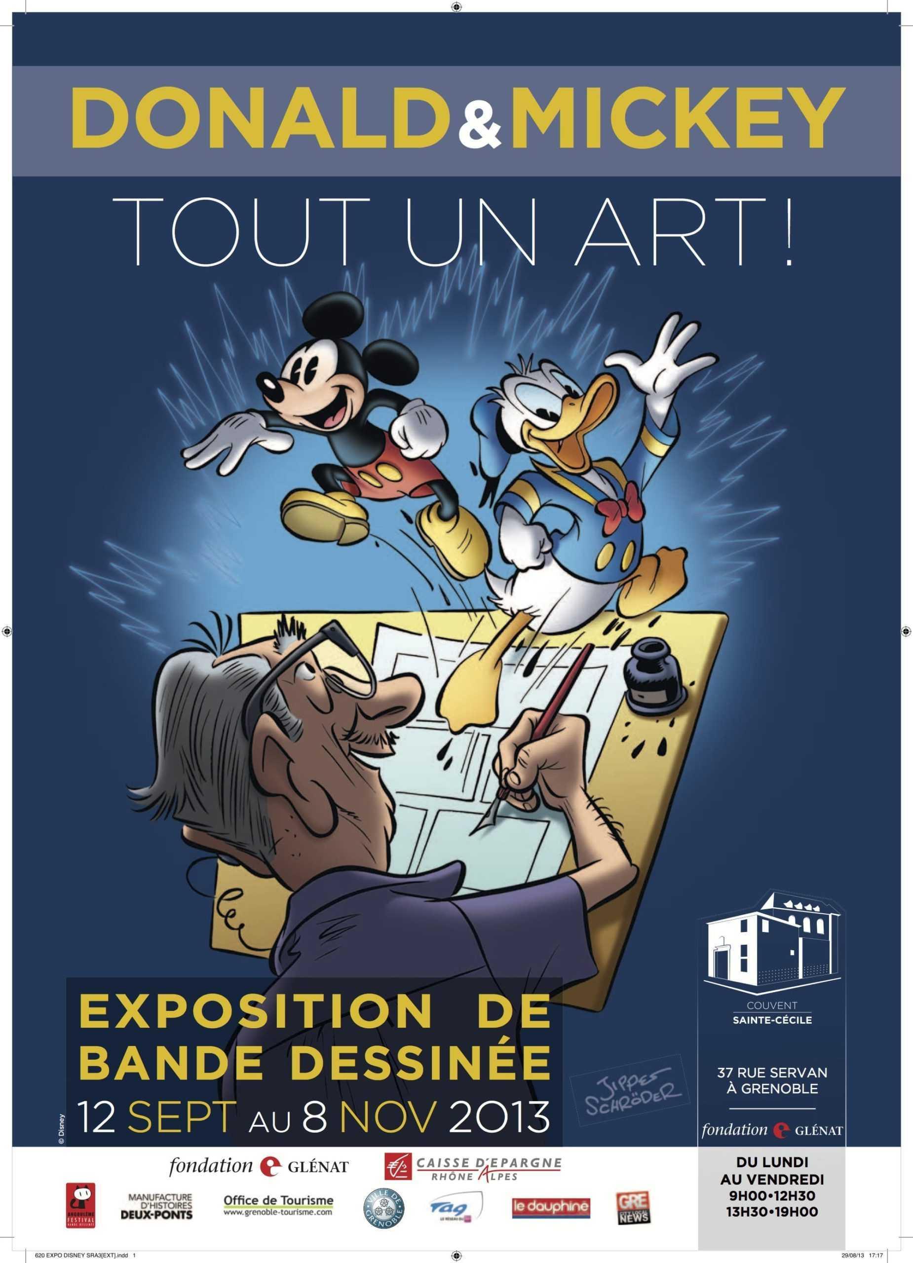 A Grenoble, Disney mis à l'honneur par Glénat