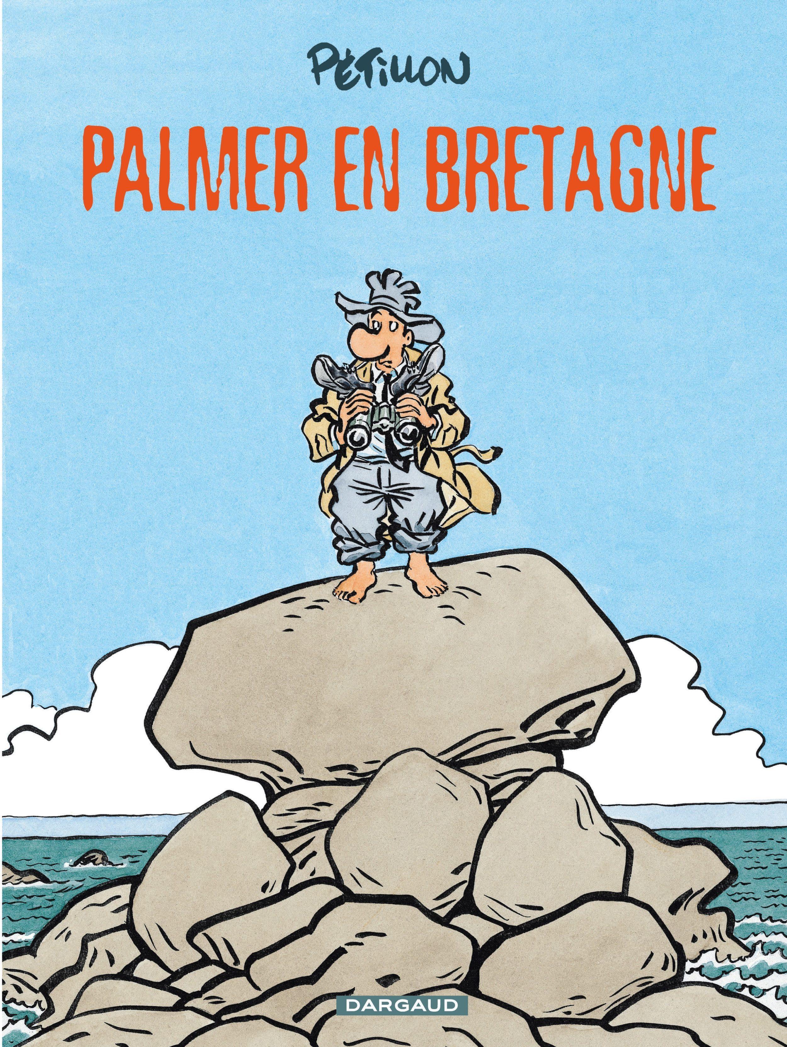"""Palmer en Bretagne, sélection de septembre pour le prix BD """"Le Parisien-Aujourd'hui en France"""""""