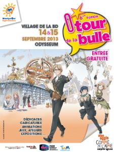 Affiche O'Tour de la Bulle 2013