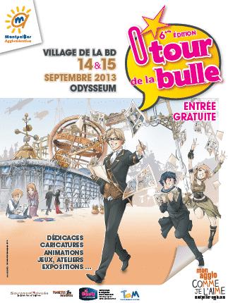 O'Tour de la Bulle 2013, coup d'envoi samedi 14 septembre à Montpellier