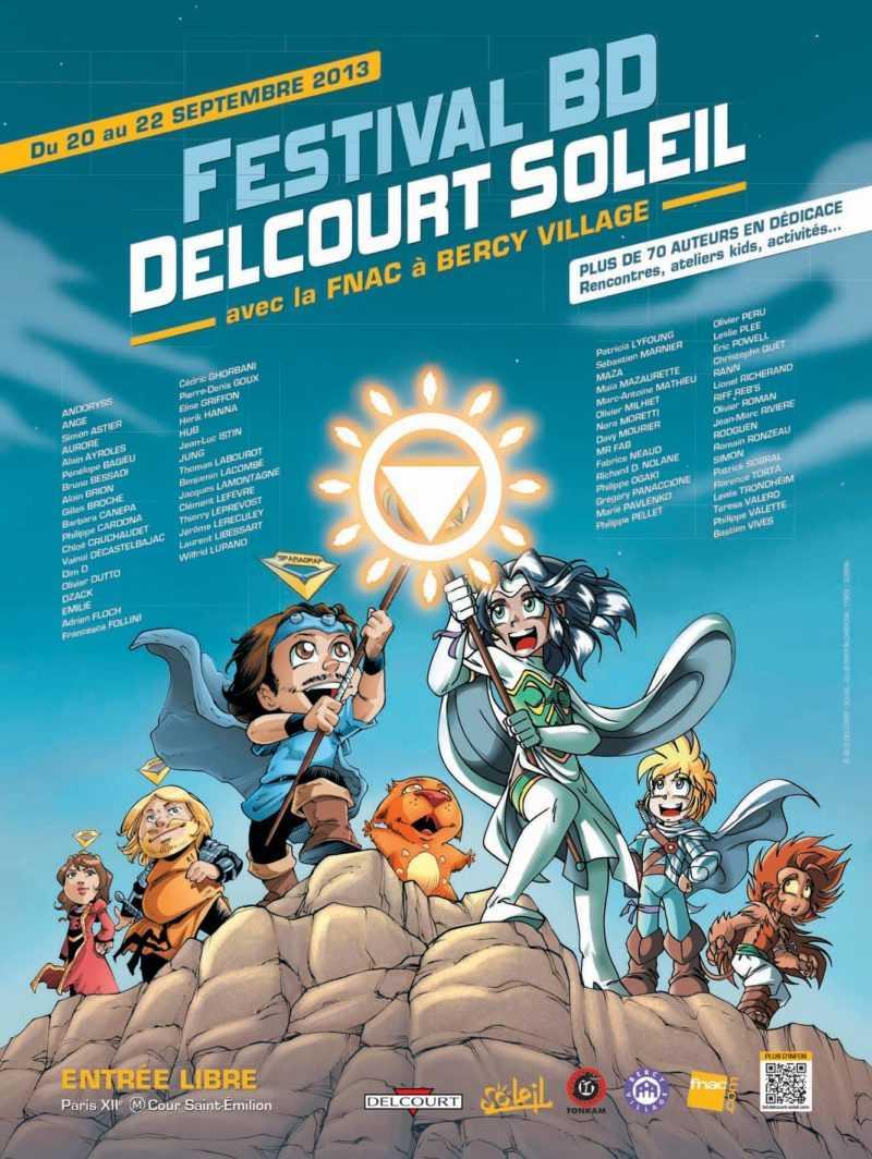 Festival BD Delcourt Soleil 2013