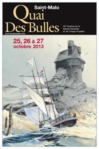 Quai des Bulles 2013, les dix finalistes du prix Ouest-France