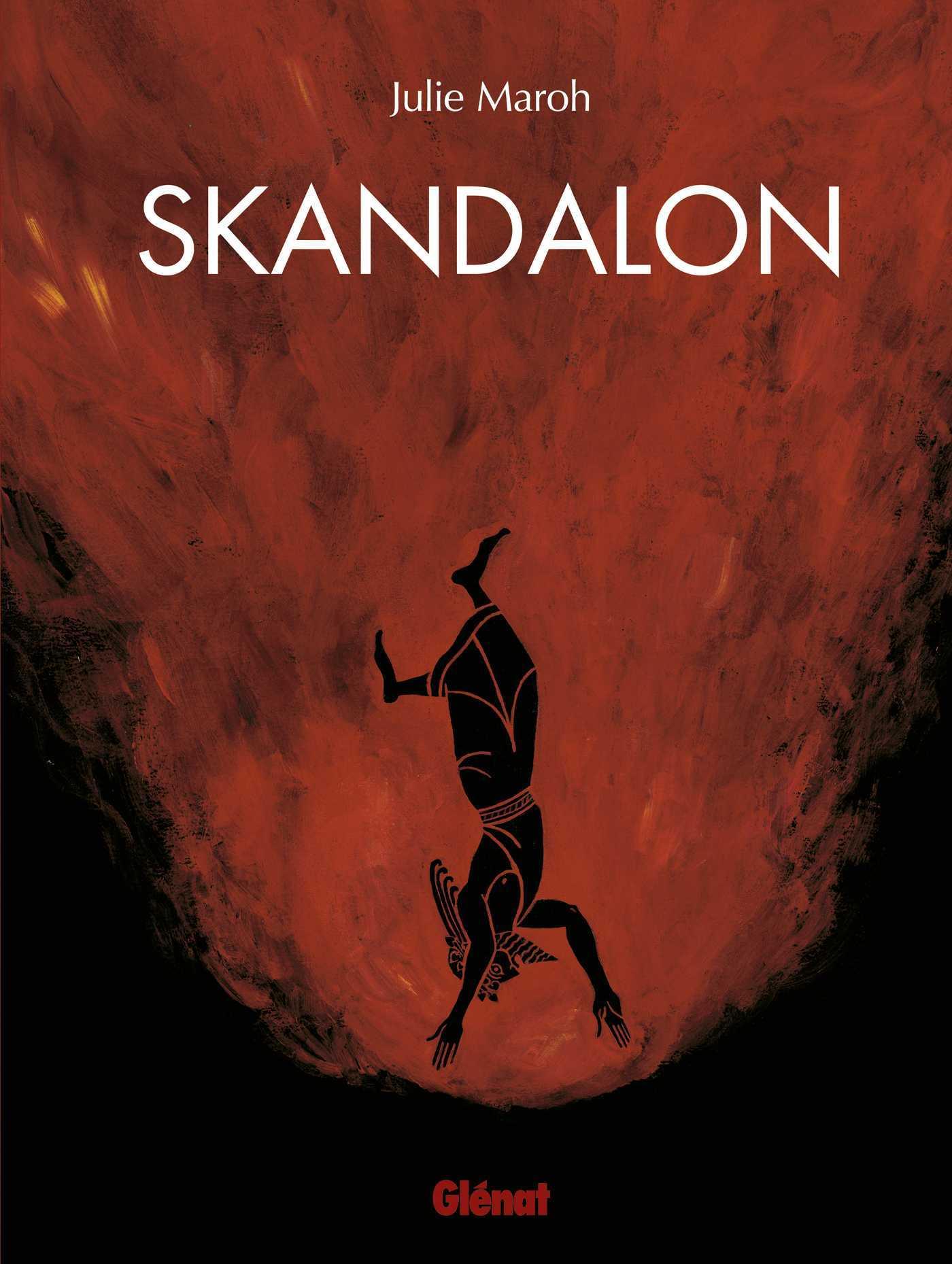 Skandalon, Julie Maroh revient avec le portrait d'un rocker flamboyant