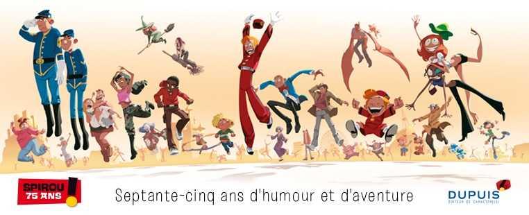 Spirou s'expose à la mairie du XIVe à Paris avec Yoann en dédicace