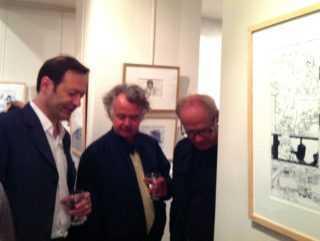 Jean-Claude Götting, Jacques de Loustal et Jean-Claude Denis