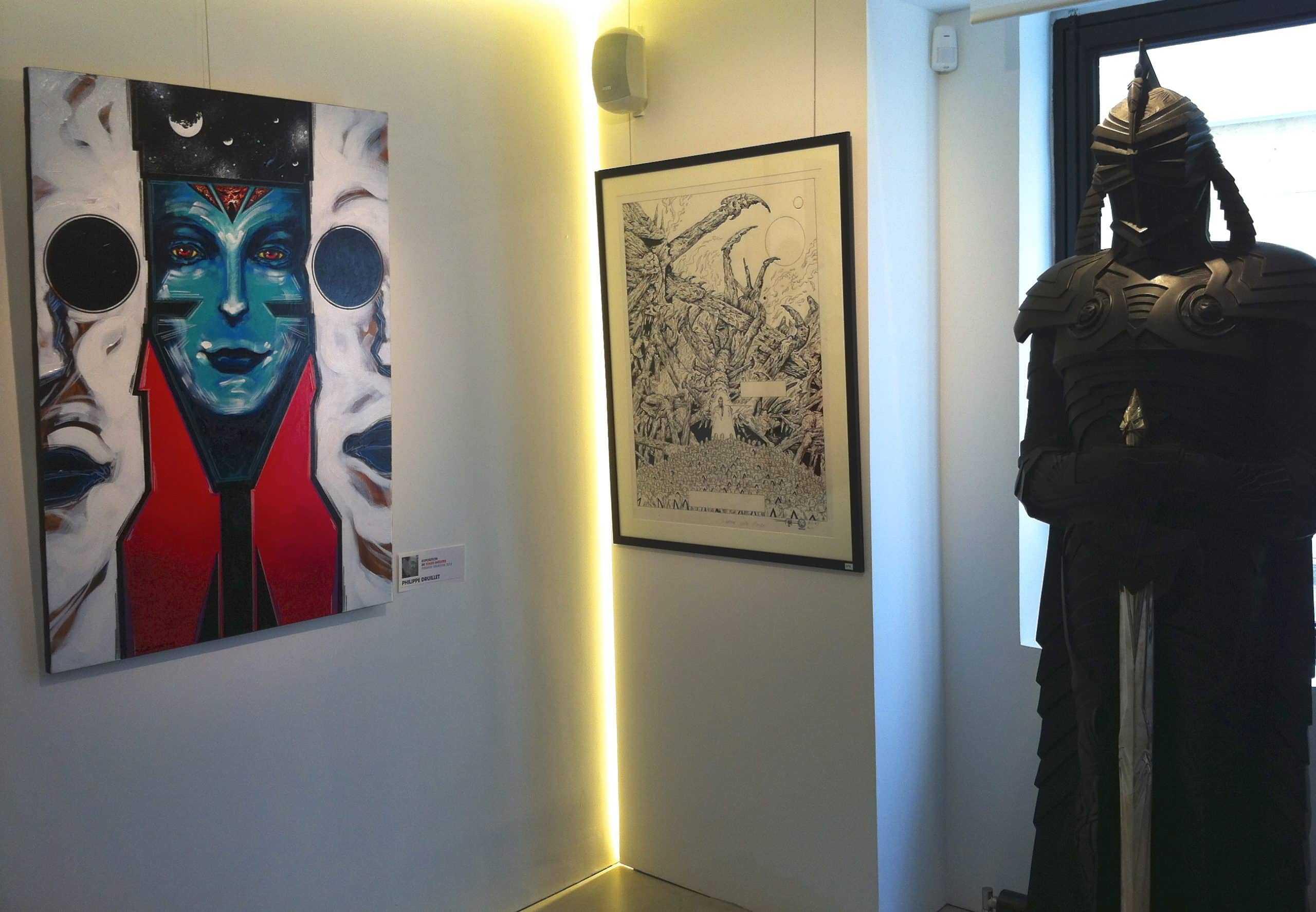 La galerie Glénat à Paris accroche Morchoisne et Eric Stalner