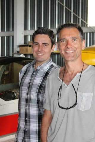 Frédéric Zumbiehl et Jean-Michel Arroyo