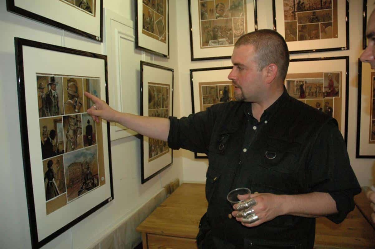 Rencontre avec Fabrice Le Henanff, de Ostfront à Modigliani