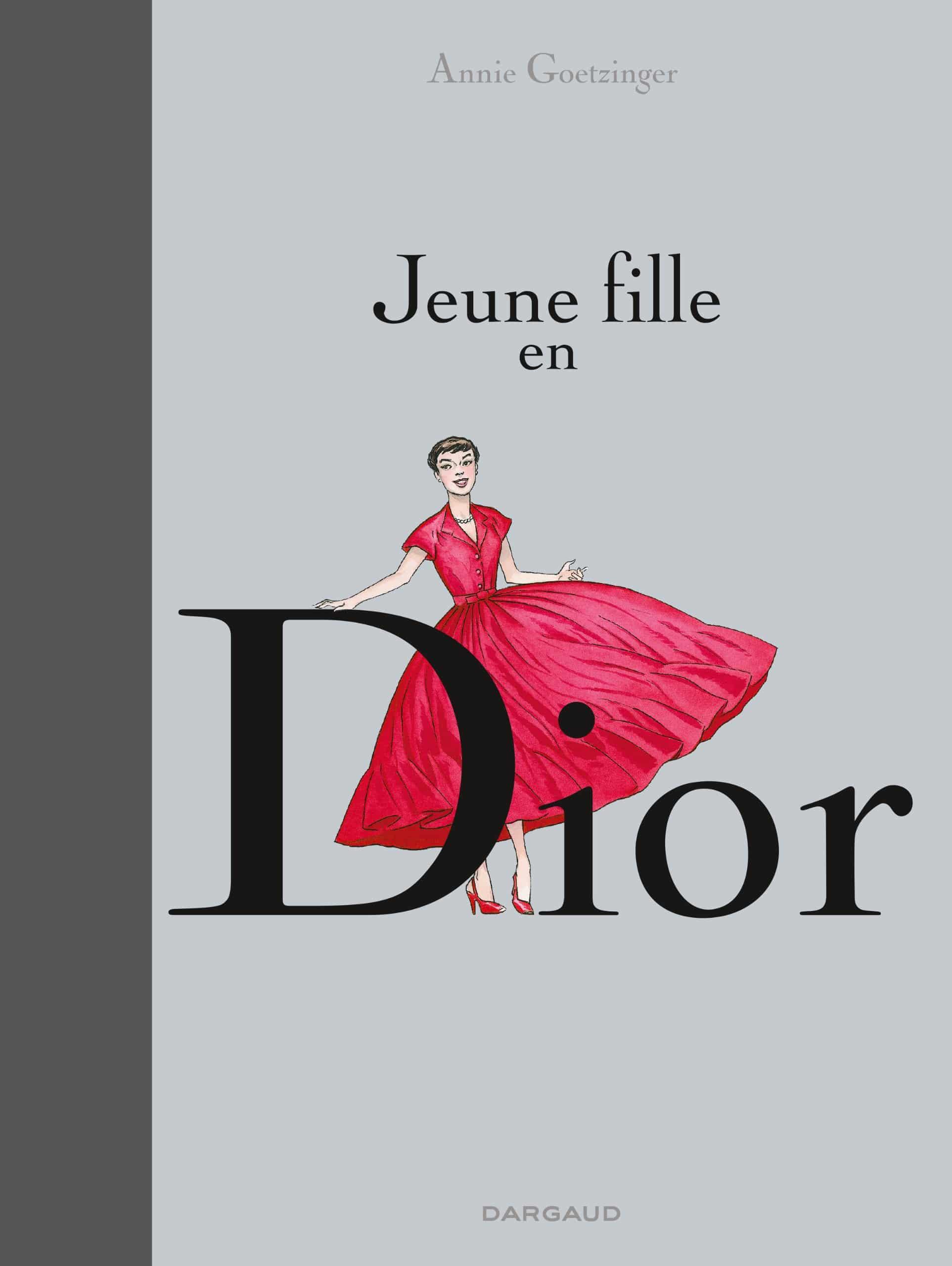 Jeune fille en Dior, promenade romanesque dans le temple de la mode