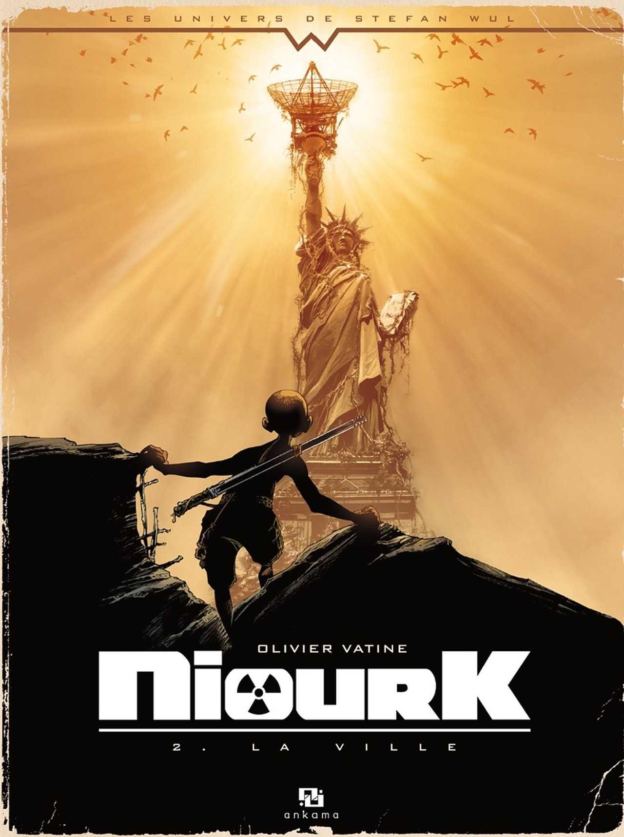 Niourk T2, l'enfant noir dans la ville des Dieux