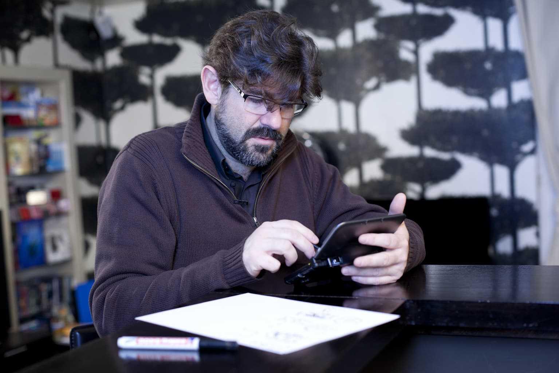 Interview : une leçon de dessin sur Nintendo avec Guarnido et Blacksad dont le tome 5 sortira fin 2013
