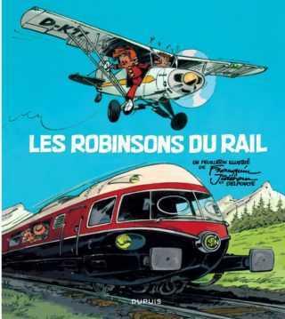 Les Robinsons du rail, un train fou signé Franquin