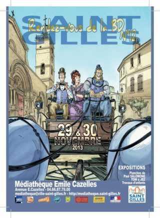 12e rendez-vous BD de Saint Gilles les 29 et 30 novembre avec Jean-Pierre Gibrat et Salomone