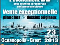 Projet Zef'Hir, des originaux aux enchères le 23 novembre à Brest pour aider la recherche médicale