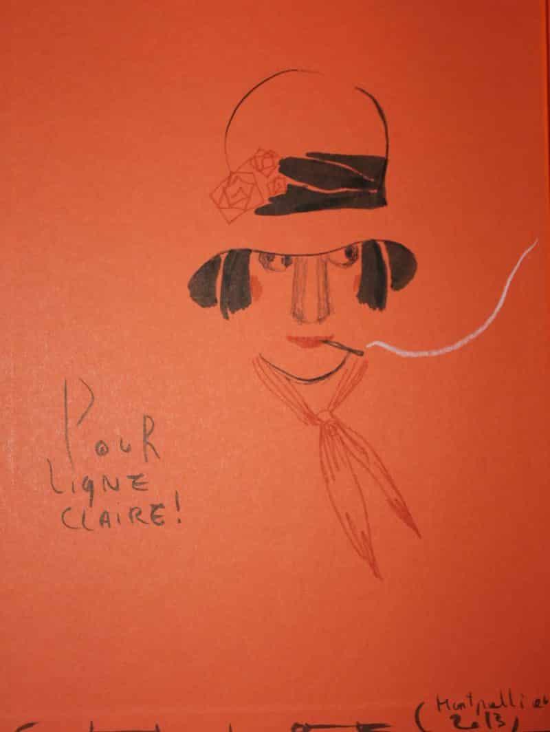 Dédicace de Chloé Cruchaudet