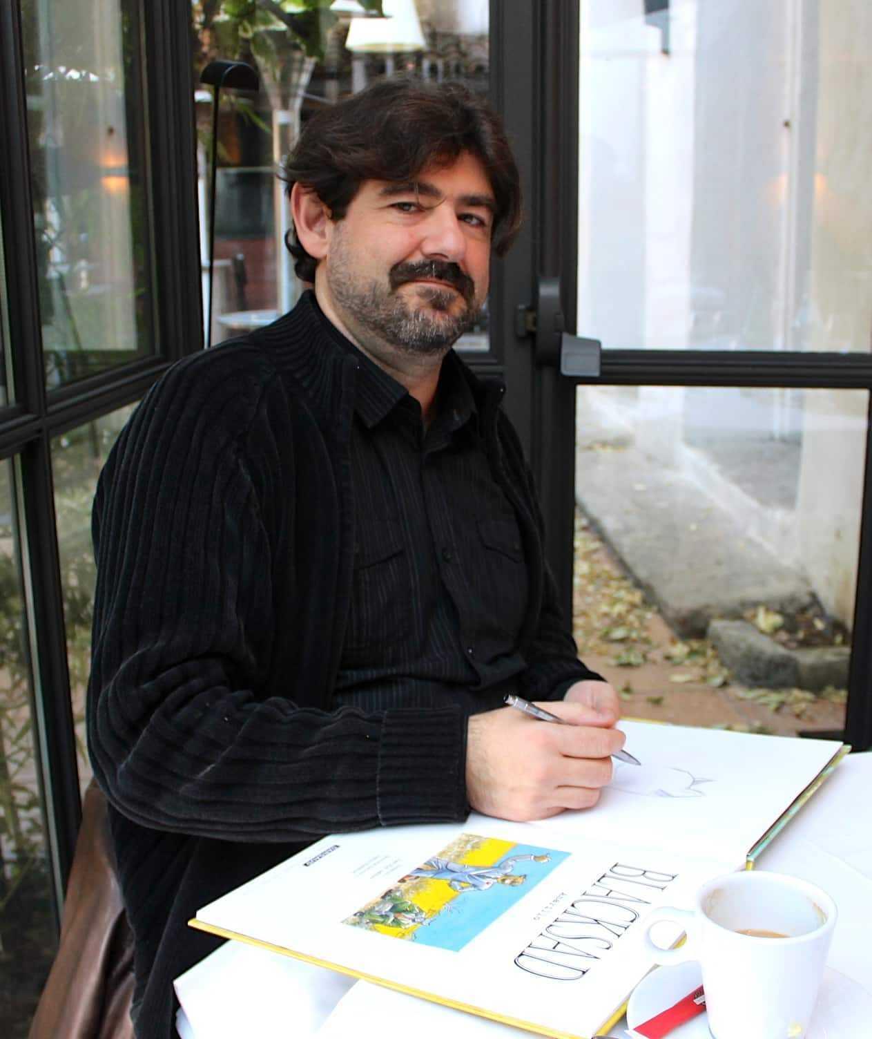 Guarnido à Montpellier : après Blacksad Amarillo, un court-métrage animé plus un album pour une fiction historique