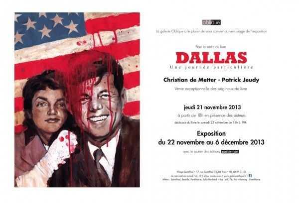 De Metter expose à la Galerie Oblique pour Dallas, une journée particulière