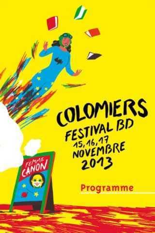 Festival BD de Colomiers 2013, tout le programme