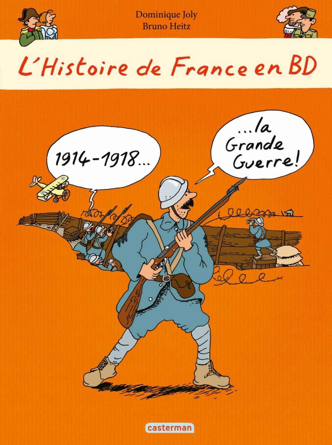 Grande Guerre 14-18 : une BD pour les enfants prévue en février prochain