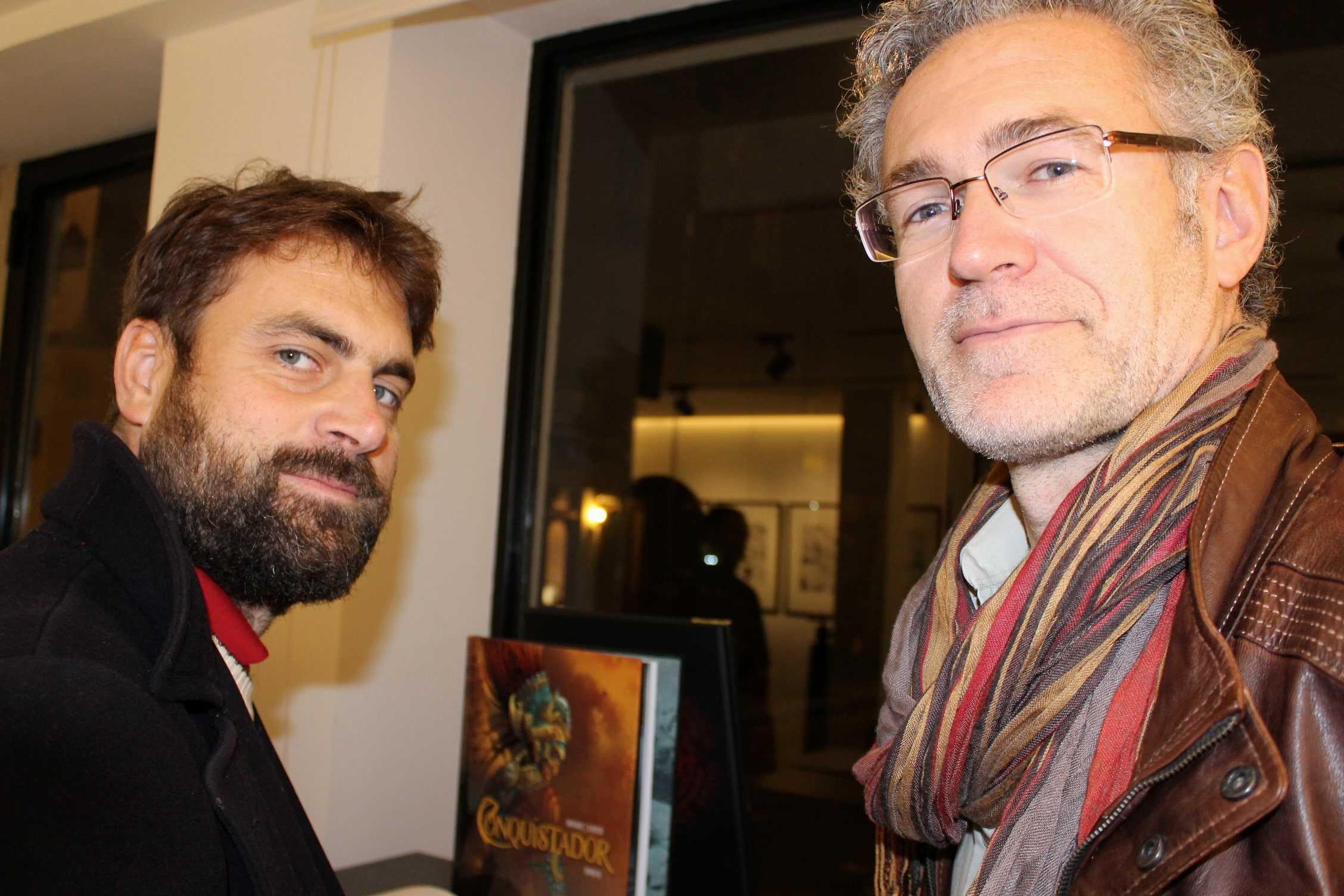 Philippe Xavier, un scénariste, deux séries à succès et une expo