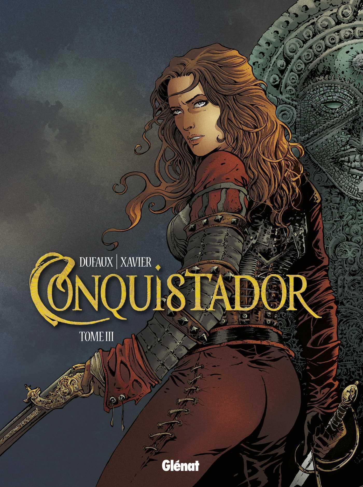 Conquistador, le tome 3 et une expo de Philippe Xavier galerie Glénat à Paris