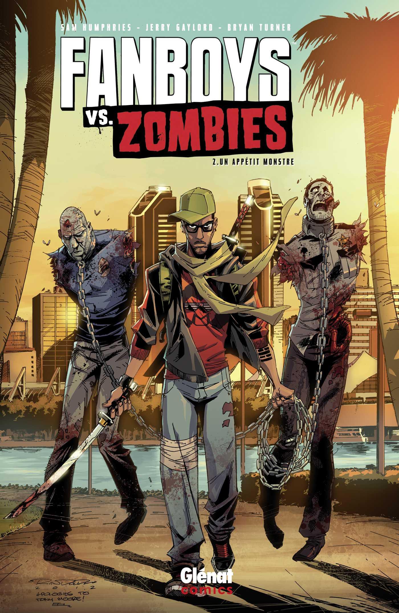 Fanboys vs. zombies T2, une suite musclée