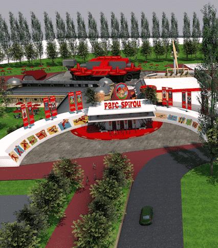 Un parc d'attractions Spirou près d'Avignon : les travaux commenceront cet été