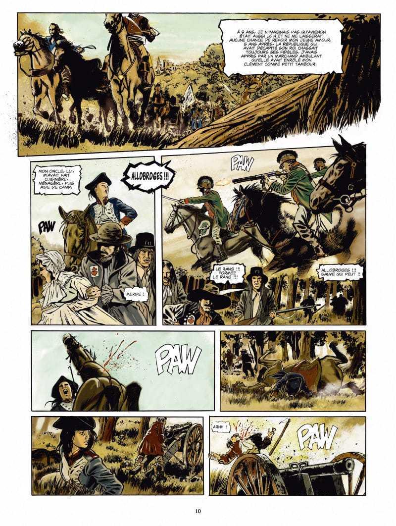 Récit de campagnes Napoléoniennes