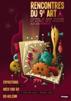 Rencontres du 9e art à Aix, les auteurs prévus