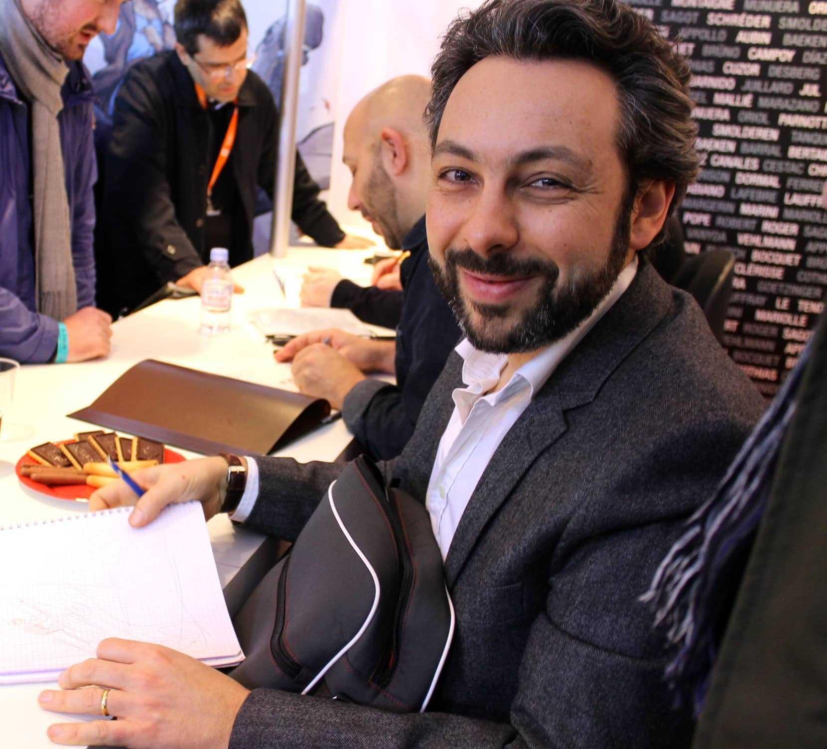 Interview : Xavier Dorison signe avec Le Feu écarlate son premier Thorgal