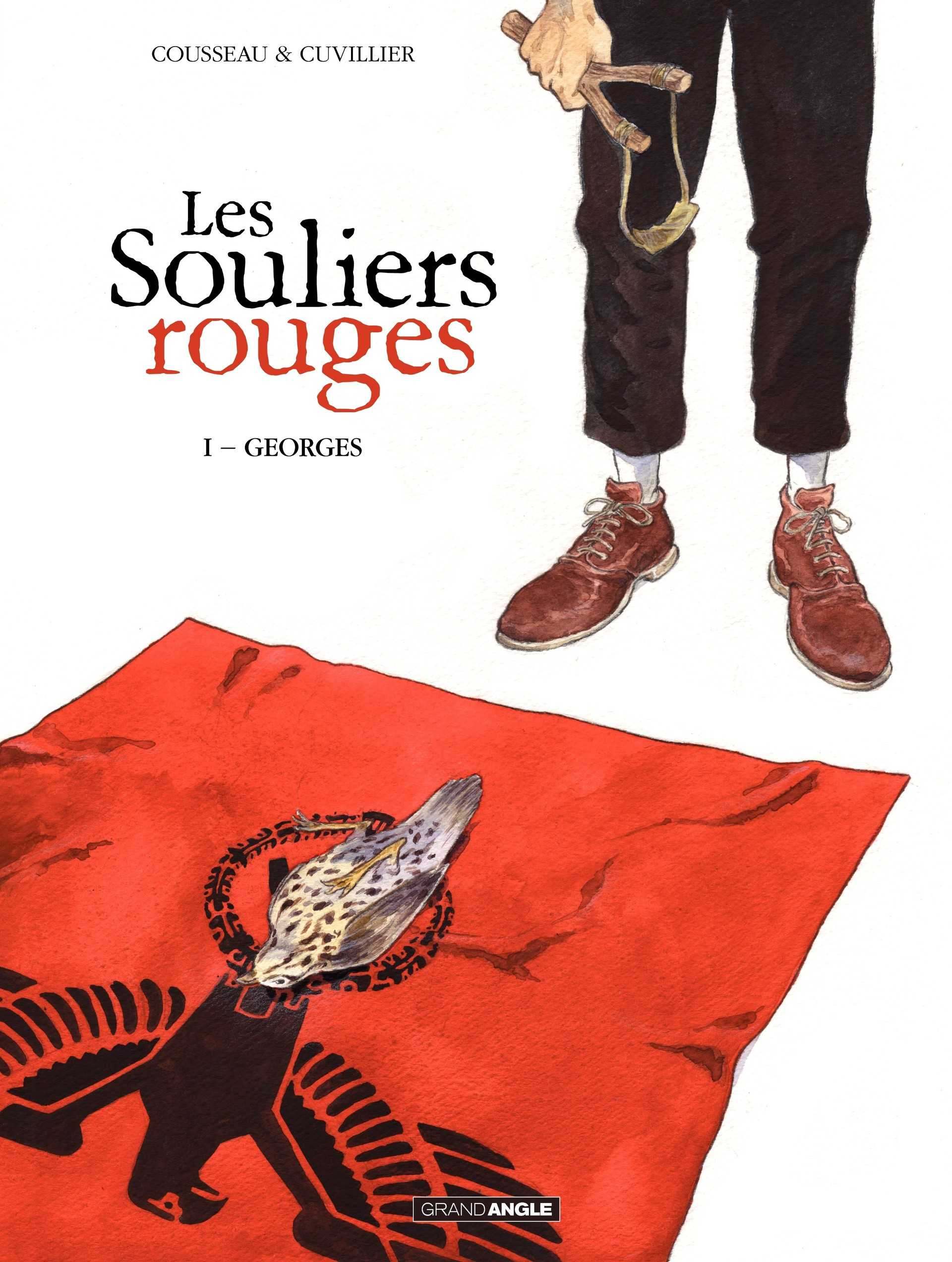 Les Souliers Rouges, 1944 : résistance en Bretagne