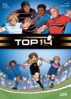 Top 14, le rugby fait ses débuts en BD