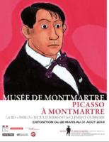 Picasso revient s'exposer à Montmartre