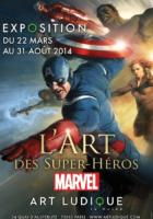 L'art des super-héros, c'est chez Art Ludique-Le Musée à Paris