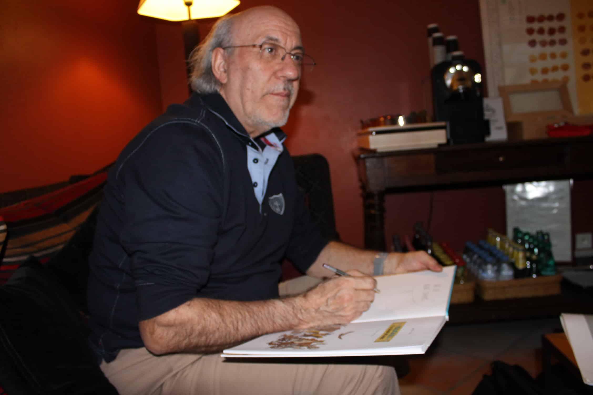 """Rencontre avec Derib pour les 40 ans de Yakari : """"Je ne suis pas prêt d'arrêter de dessiner"""""""