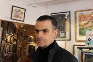 Frédéric Bézian en dédicace chez Azimuts à Montpellier le 31 mars avec le Docteur Radar T2