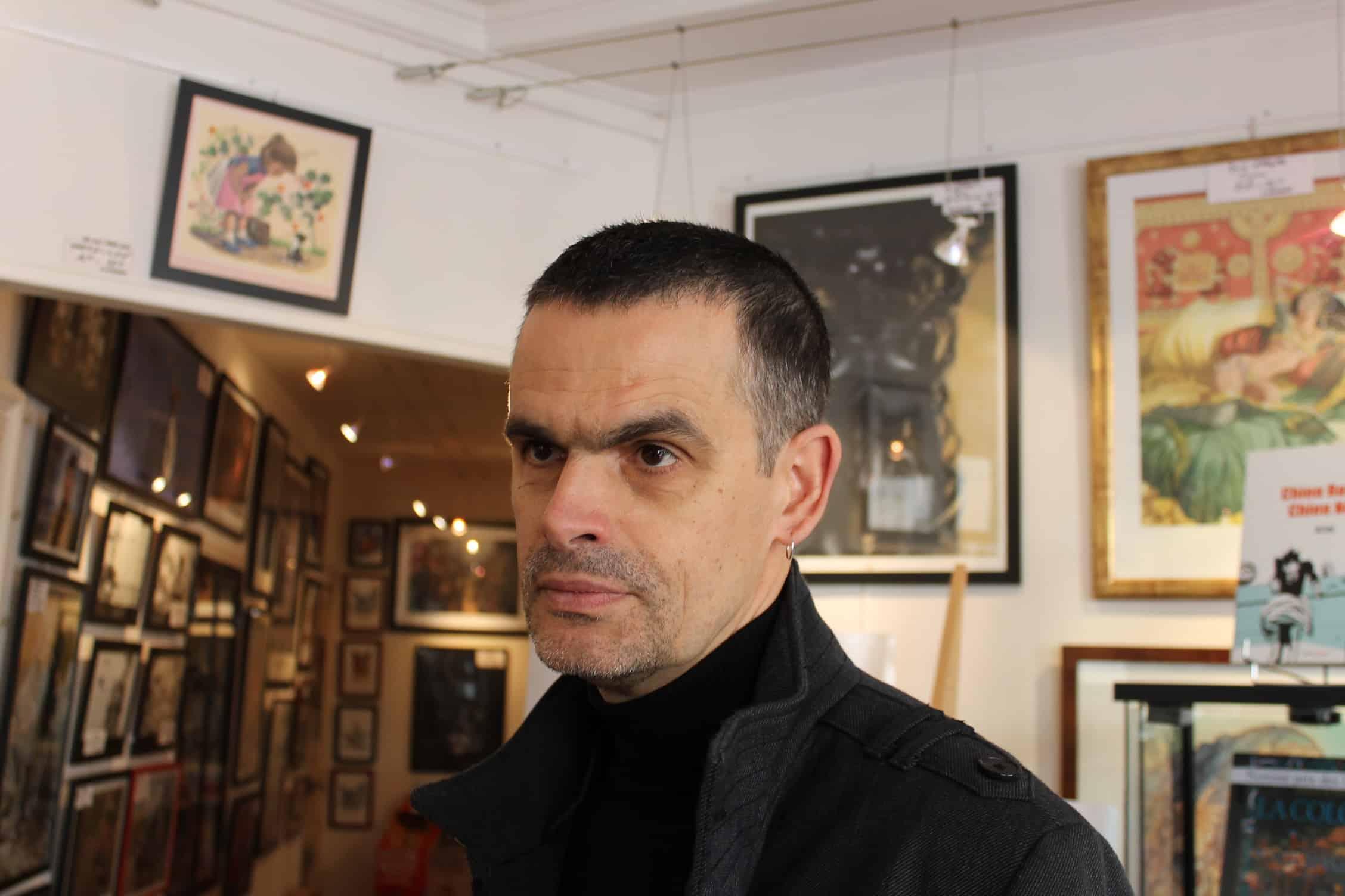 Bézian en dédicace chez Azimuts à Montpellier le 16 janvier pour Le Courant d'art