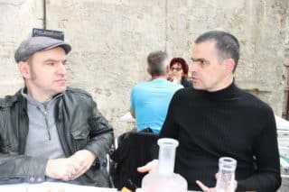 Frédéric Bézian et Lewis Trondheim