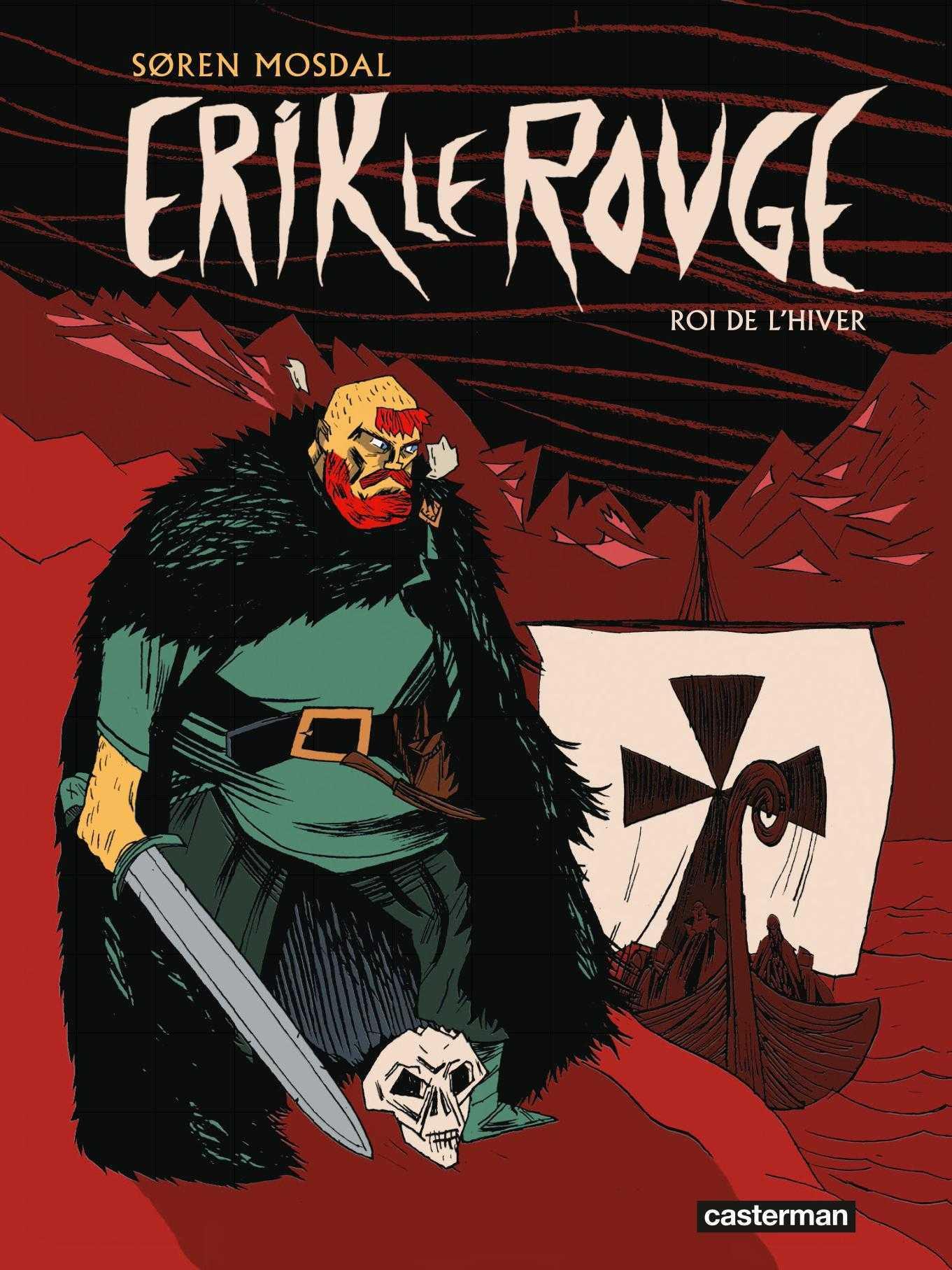 Rencontre avec Søren Mosdal qui raconte la saga d'Erik Le Rouge