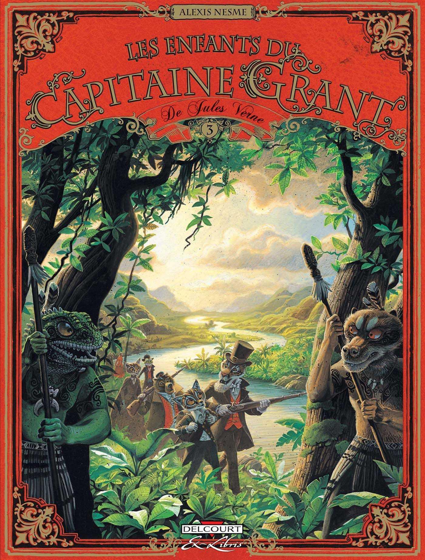 Les Enfants du Capitaine Grant T3, alerte aux Maori