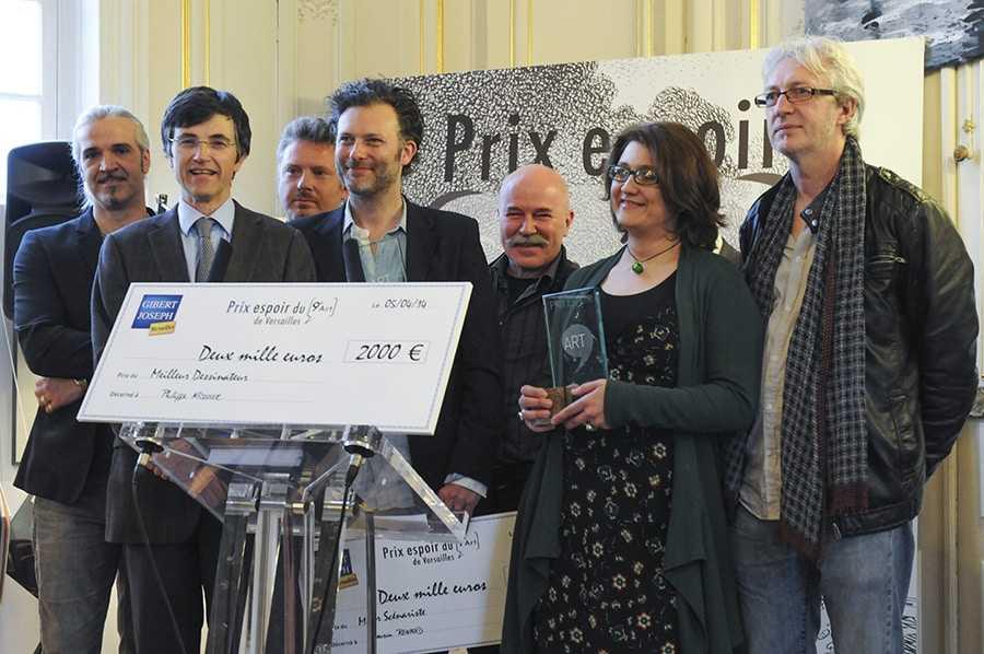 Prix Espoir du 9e art à Versailles : Romain Renard et Philippe Nicloux récompensés