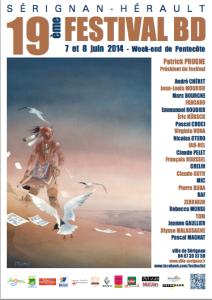 Affiche Sérignan 2014