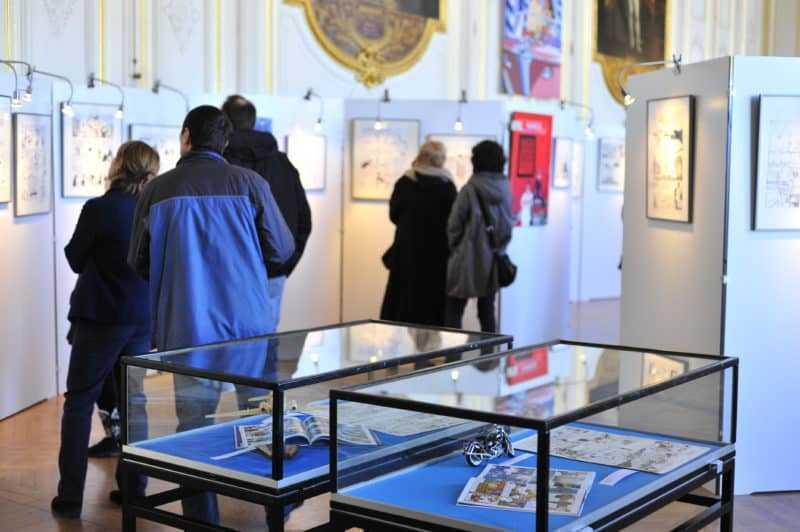 L'expo BD de Versailles 2014