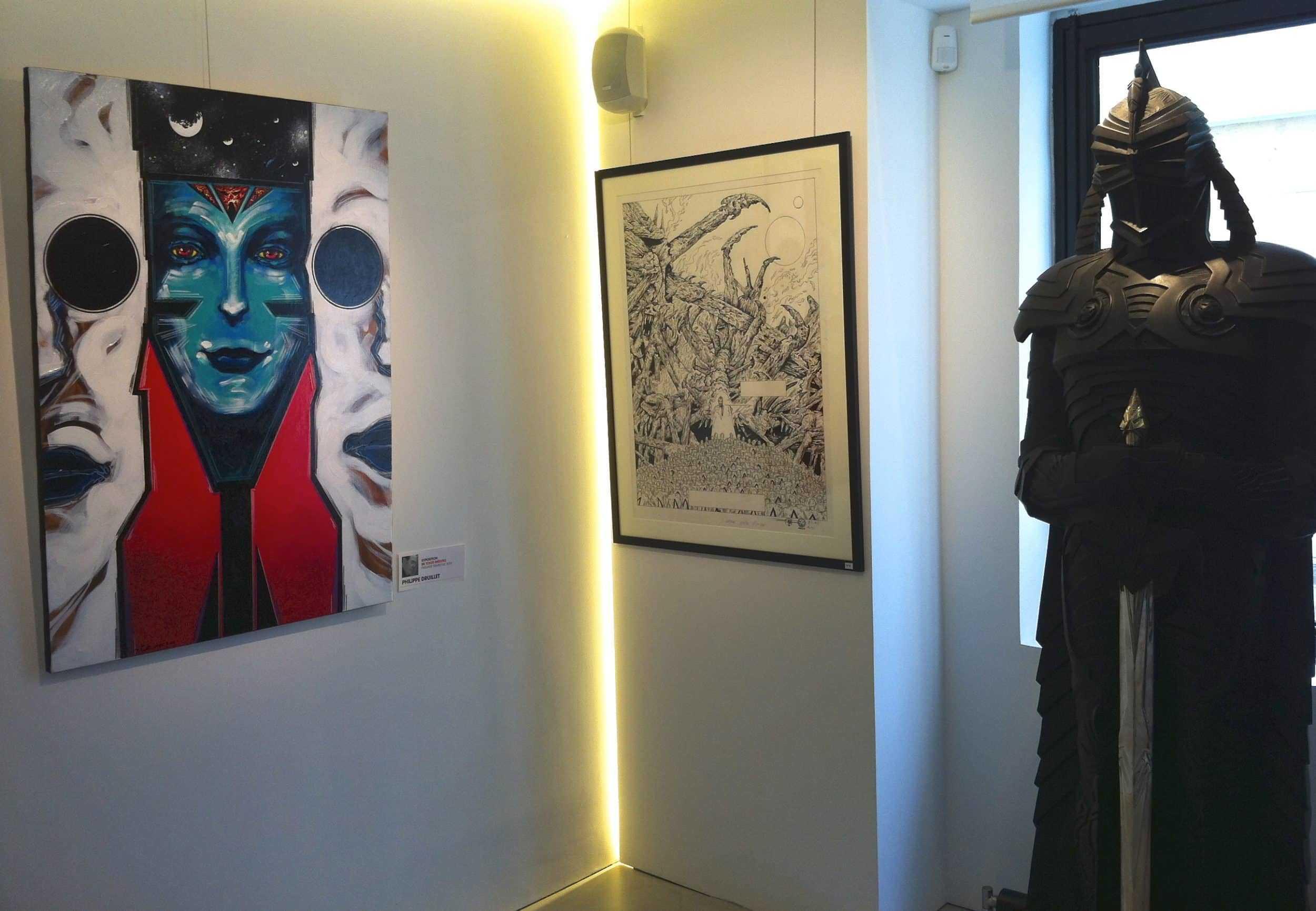 Galerie Glénat à Paris, tout le programme et bientôt Druillet