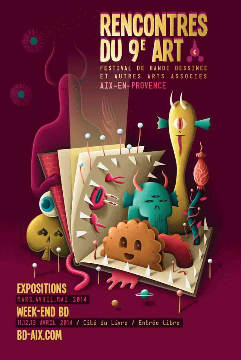 Rencontres du 9e Art d'Aix-en-Provence 2014