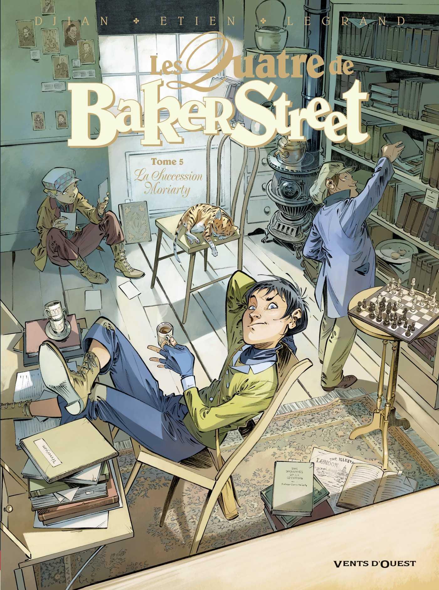 Les Quatre de Baker Street T5, Holmes est-il mort ?